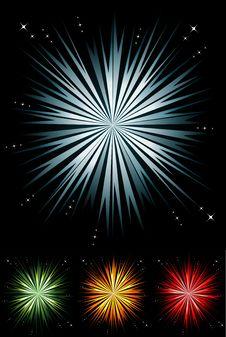 Free Light Burst Set Royalty Free Stock Photo - 20502245