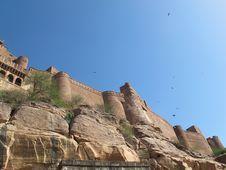 Fort In Jodhpur Stock Photos