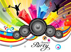Free Abstract Colorful Musical Backgrougnd Royalty Free Stock Image - 20502806