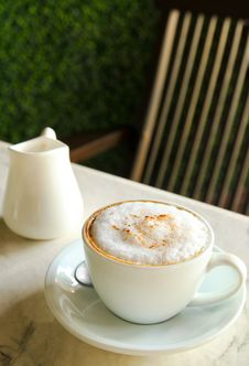 Free Cup Of Cappuccino Stock Images - 20502904