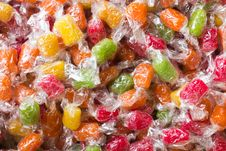 Colorful Native Candy Thai Style Royalty Free Stock Image