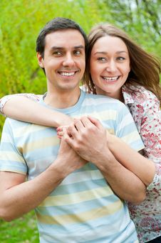 Free Beautiful Young Couple Royalty Free Stock Photos - 20504608
