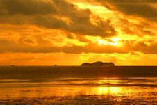 Free Sunset At Andaman Sea Royalty Free Stock Image - 20504696