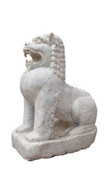 Free Leo Statue Royalty Free Stock Photo - 20505065