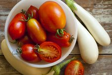 Free Tomatoes And Eggplants Stock Images - 20505184