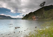 Free Ullswater Boathouse Royalty Free Stock Images - 20505819