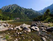 Lake In High Tatras, Slovakia Stock Image