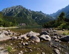 Free Lake In High Tatras, Slovakia Stock Image - 20506221