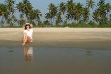 Free Woman On The Beach Stock Photos - 20507323