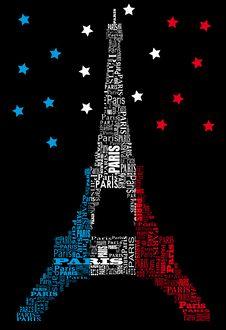Free Tour Eiffel By Night Stock Image - 20507401