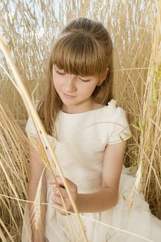 Free Communion Girl Royalty Free Stock Photos - 20508778