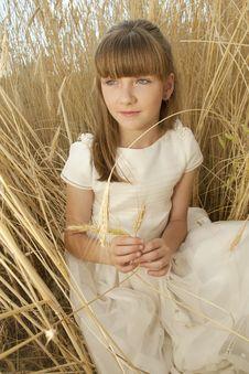 Free Communion Girl Royalty Free Stock Photos - 20508798