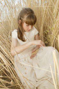 Free Communion Girl Royalty Free Stock Photos - 20508808