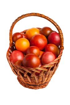 Free Tomatoes In A Basket Royalty Free Stock Photography - 20508917