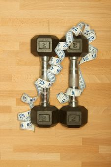 Free Weights Stock Photography - 20509572