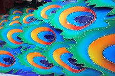 Free Colorful Peacock Feather Royalty Free Stock Photography - 20509867