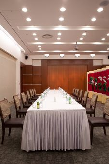 Free South Korea S View Of The Banquet Hall Royalty Free Stock Photo - 20509945