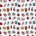 Free Seamless Hospital Element Pattern Stock Photo - 20510390