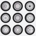 Free Alloy Wheels Stock Photos - 20516373