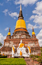 Free Buddha Statue And Ruin Pagoda In Park In Ayutthaya Stock Photo - 20518130