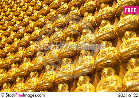 Free Buddha Statue In Thailand Stock Photography - 20516122