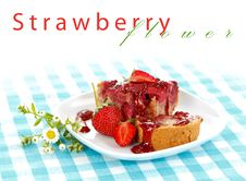 Free Strawberry Cake Royalty Free Stock Photos - 20510048