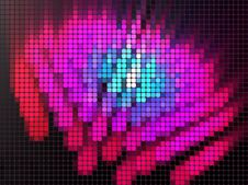 Free Luminous Mosaic Background Royalty Free Stock Image - 20510206