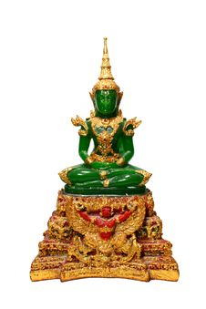 Free Emerald Buddha Royalty Free Stock Photo - 20510265