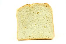 Free White Loaf On White Background Stock Photos - 20511323