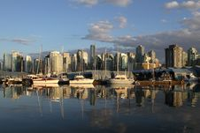 Free Vancouver Canada Cityscape Stock Photography - 20511612