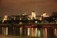 Free Royal Castle Wawel By Night Royalty Free Stock Images - 20511619