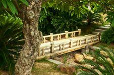 Free Wooden Bridge Royalty Free Stock Photo - 20511985