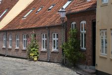 Free Street With Old Houses Royalty Free Stock Image - 20511996