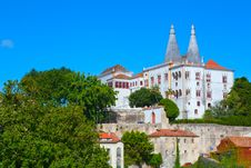 Free The Sintra National Palace Royalty Free Stock Photography - 20512097