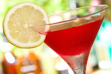 Red Cocktail Royalty Free Stock Images