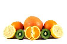 Free Citrus Fruit Plate Stock Photo - 20514210