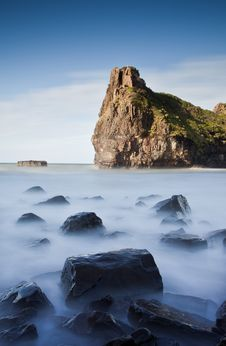 Free Misty Sea And Rocks Stock Images - 20514404