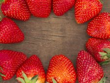 Free Strawberry Frame Stock Images - 20515264