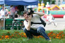 Free Photographer During Shooting Stock Photos - 20516053