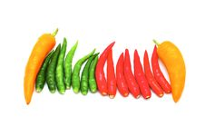 Hot Thai Chilli Royalty Free Stock Photos