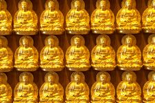 Buddha Statue In Thailand Royalty Free Stock Photo