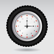Free Illustration Of A Clock Stock Photography - 20516382