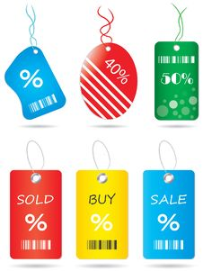 Free Price Tags Royalty Free Stock Image - 20516456