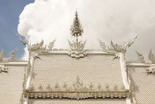 Free Wat Rhong Khun With Thai Stucco Royalty Free Stock Photography - 20516537