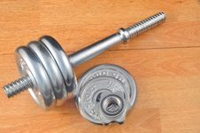 Free Gym Weights Royalty Free Stock Image - 20517056