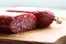 Free Italian Sausage Royalty Free Stock Images - 20517169