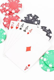 Free Four Of A Kind Stock Photography - 20517412