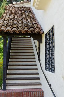 Free Spanish Style Staircase Royalty Free Stock Photos - 20517758