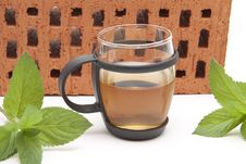 Free Peppermint Tea Royalty Free Stock Image - 20517966