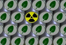 Free Radioactive Barrel Royalty Free Stock Photo - 20519115
